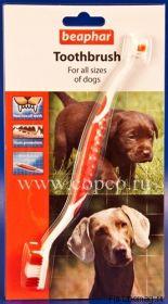 Зубная щетка двойная д/собак